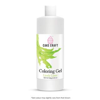 CAKE CRAFT | COLOURING GEL | LIVELY LIME GREEN | 385G