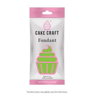 CAKE CRAFT | FONDANT | LIVELY LIME GREEN | 250G