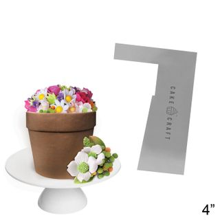 CAKE CRAFT | BUTTERCREAM COMB | FLOWER POT | 4 INCH