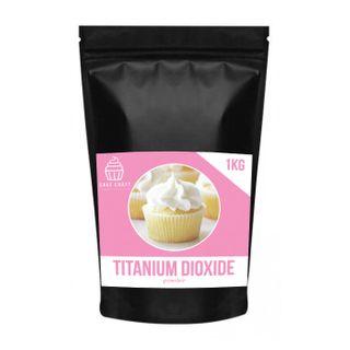 CAKE CRAFT   TITANIUM DIOXIDE   1KG