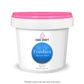 CAKE CRAFT | FONDANT | ELECTRIC BLUE | 1KG