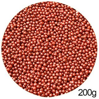 CACHOUS/BALLS | RED | 2MM | SPRINKLES | 200G
