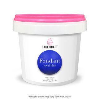 CAKE CRAFT | FONDANT | ROYAL BLUE | 1KG