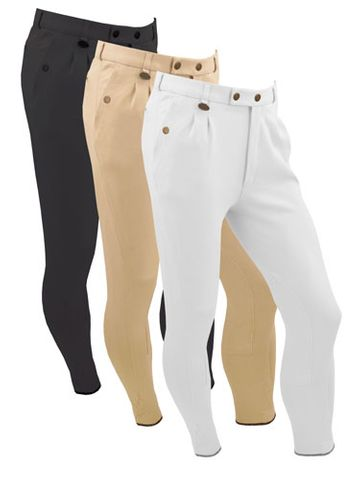 Boys casual Breeches - White