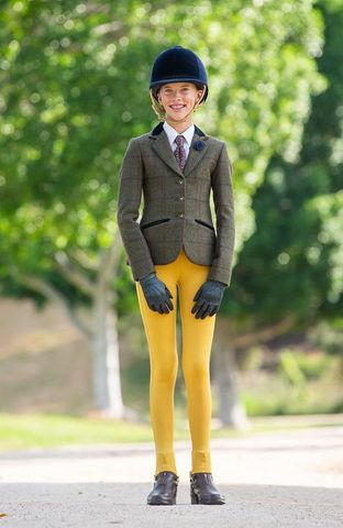 Bare Youth Competiton Tights Gold