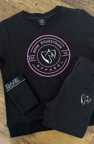 Bare Logo Sweater Black