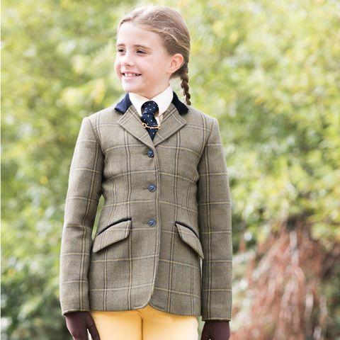 Junior Stowe Deluxe Tweed Ridi