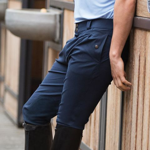 Mens Rival KS Breeches - Navy