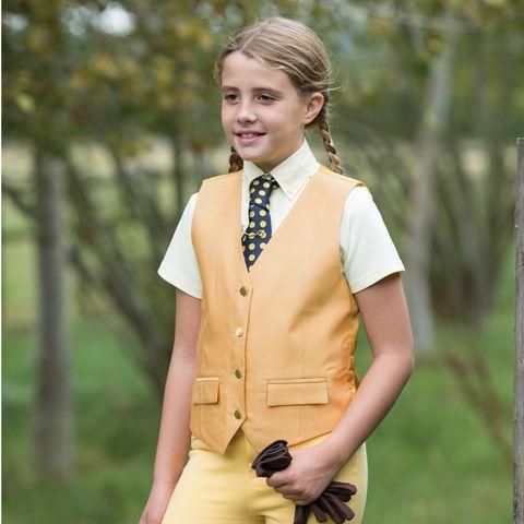 Junior Classic Waistcoat - Nav