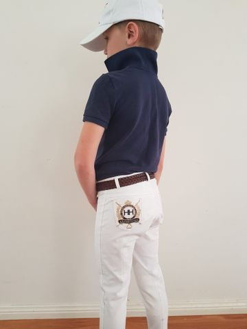 Kids Jodhpurs White