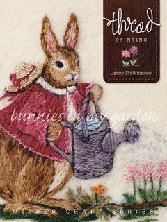 Thread Painting: Bunnies in My Garden
