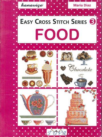 Easy Cross Stitch Series 3: Food