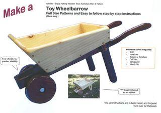 Plan - Toy Wheelbarrow