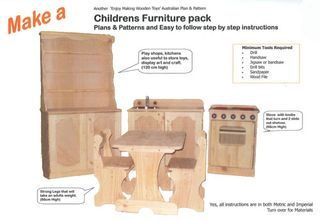Plan-Childrens Furniture Pack