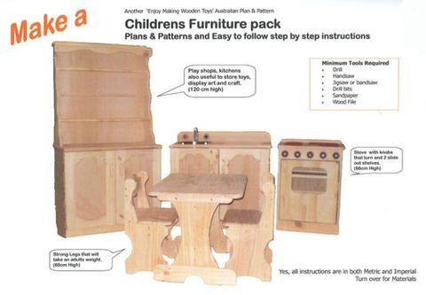Plan-Childrens Furniture Pack