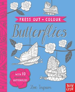 Press Out and Colour: Butterflies