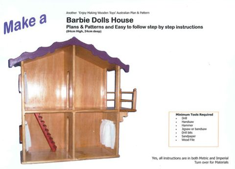 Plan-Barbie Dolls House