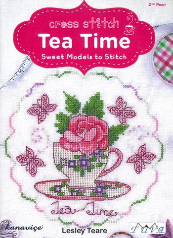 Cross Stitch Tea Time