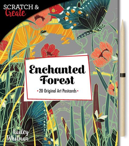 Scratch & Create: Enchanted Forest