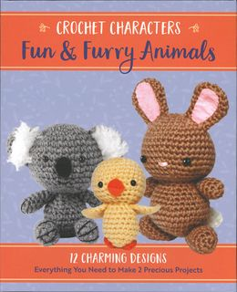 Crochet Characters: Fun & Furry Animals