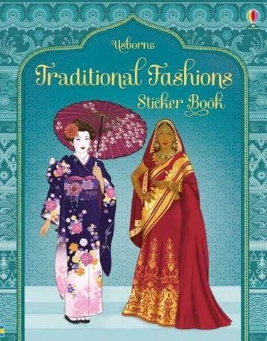 Traditional Fashions Sticker Book