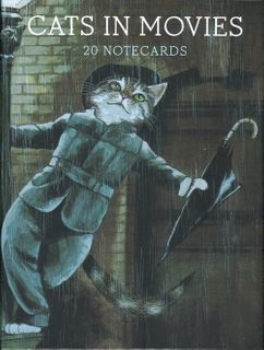 Cats in Movies: 20 Notecards
