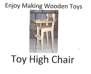 Plan - Toy High Chair