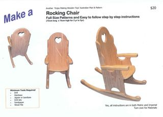 Plan Rocking Chair