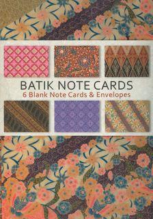 Batik Note Cards