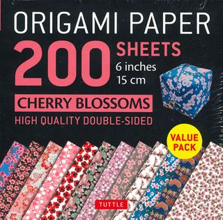 Origami Paper 200 Sheets: Cherry Blossoms