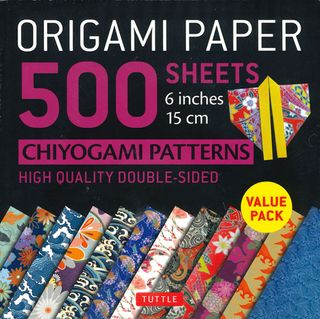 Origami Paper 500 Sheets: Chiyogami Patterns