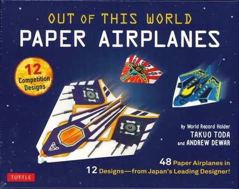 Out of This World Paper Planes