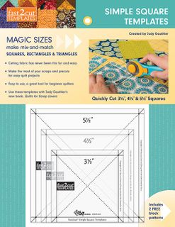 Fast2Cut Simple Square Templates