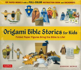 Origami Bible Stories for Kids