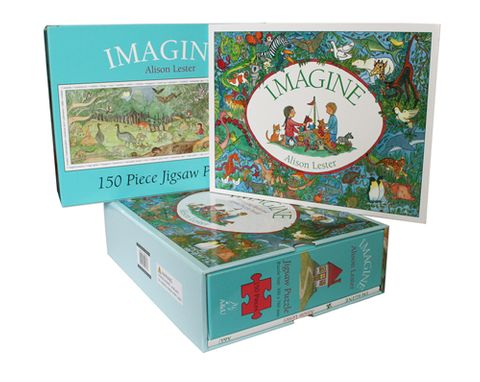 Imagine Book and Jigsaw Puzzle