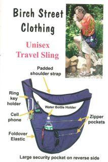 Unisex Travel Sling