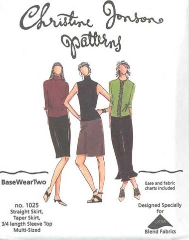 Base Wear Two - Straight Skirt, Taper Skirt and Top with Options