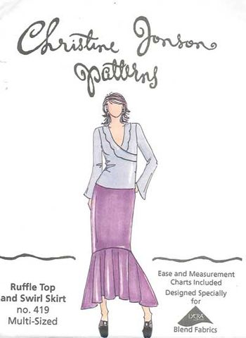 Swirl Skirt & Ruffle Top