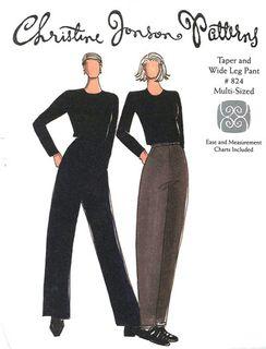 Taper Pant & Wide Leg Pant