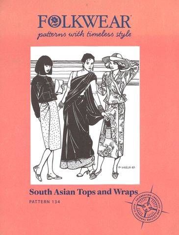 South Asian Tops & Wraps