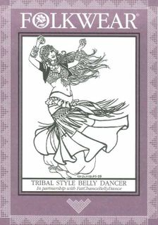 Tribal Style Belly Dancer