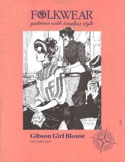 Gibson Girl Blouse
