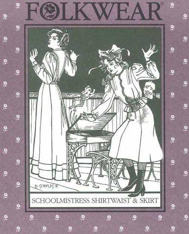 Schoolmistresses Shirtwaist & Skirt