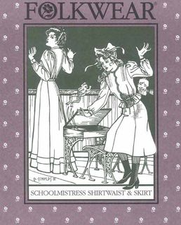 Schoolmistresses Shirtwaist & Skirt