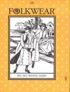 Big Sky Riding Skirt