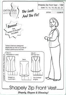 Shapely Zip Front Vest