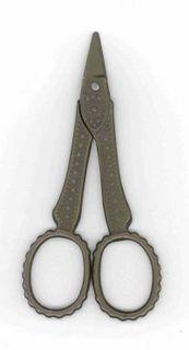 Retro Scissors Short/dots