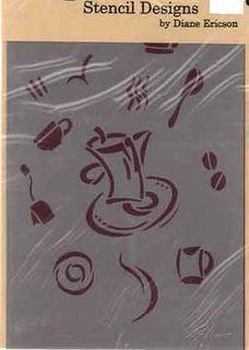 Te y Cafe Stencil