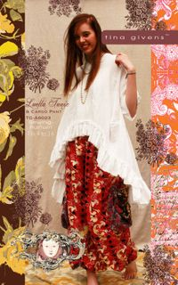 Luella Tunic & Cargo Pant