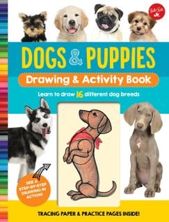 Dogs & Puppies: Drawing & Activity Book